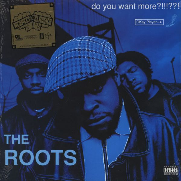 The Roots Do You Want More Blue Vinyl Edition 2lp